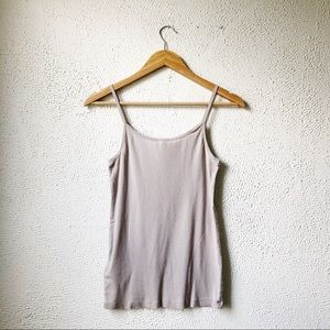 Joie Tops - Joie | Taupe Cami Scoop Neck Tank Top Size M